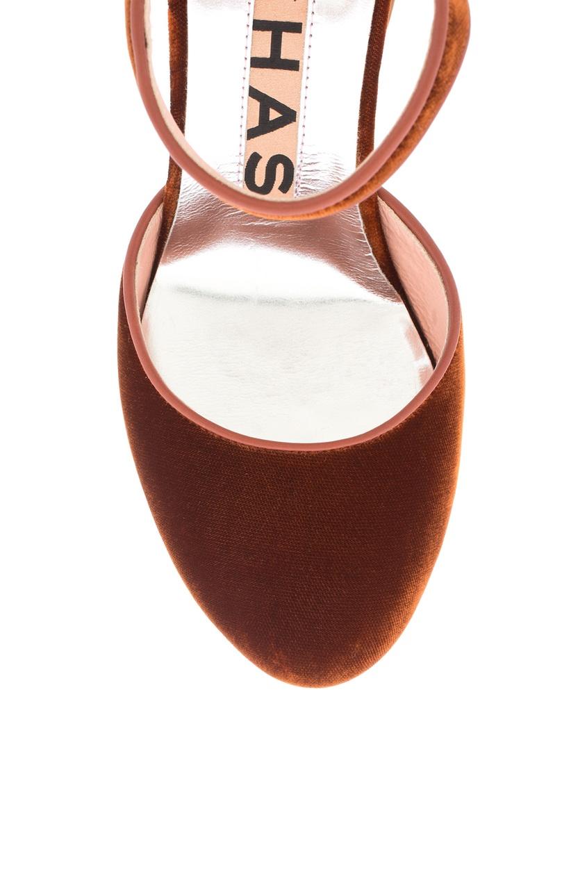Туфли из велюра от AIZEL
