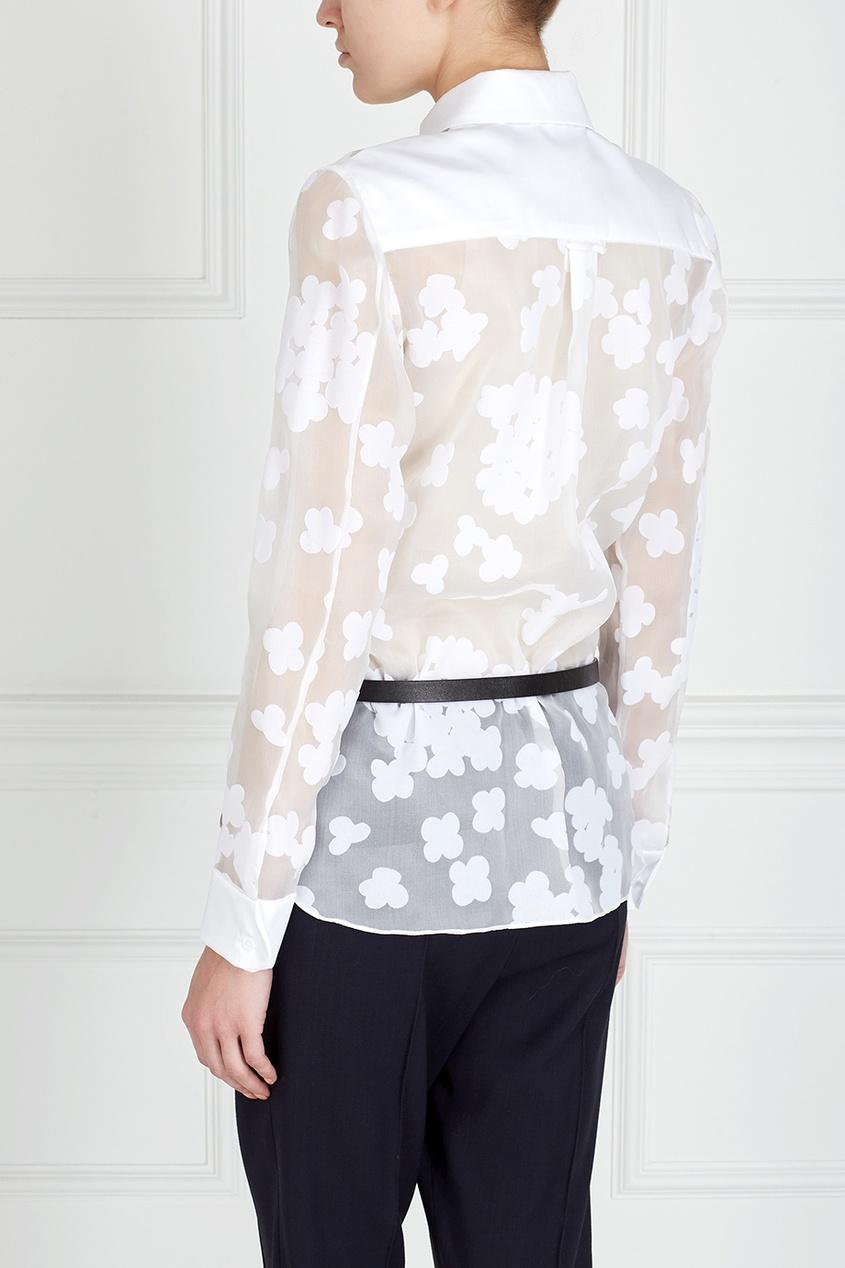 Белые Блузки Хлопок Купить