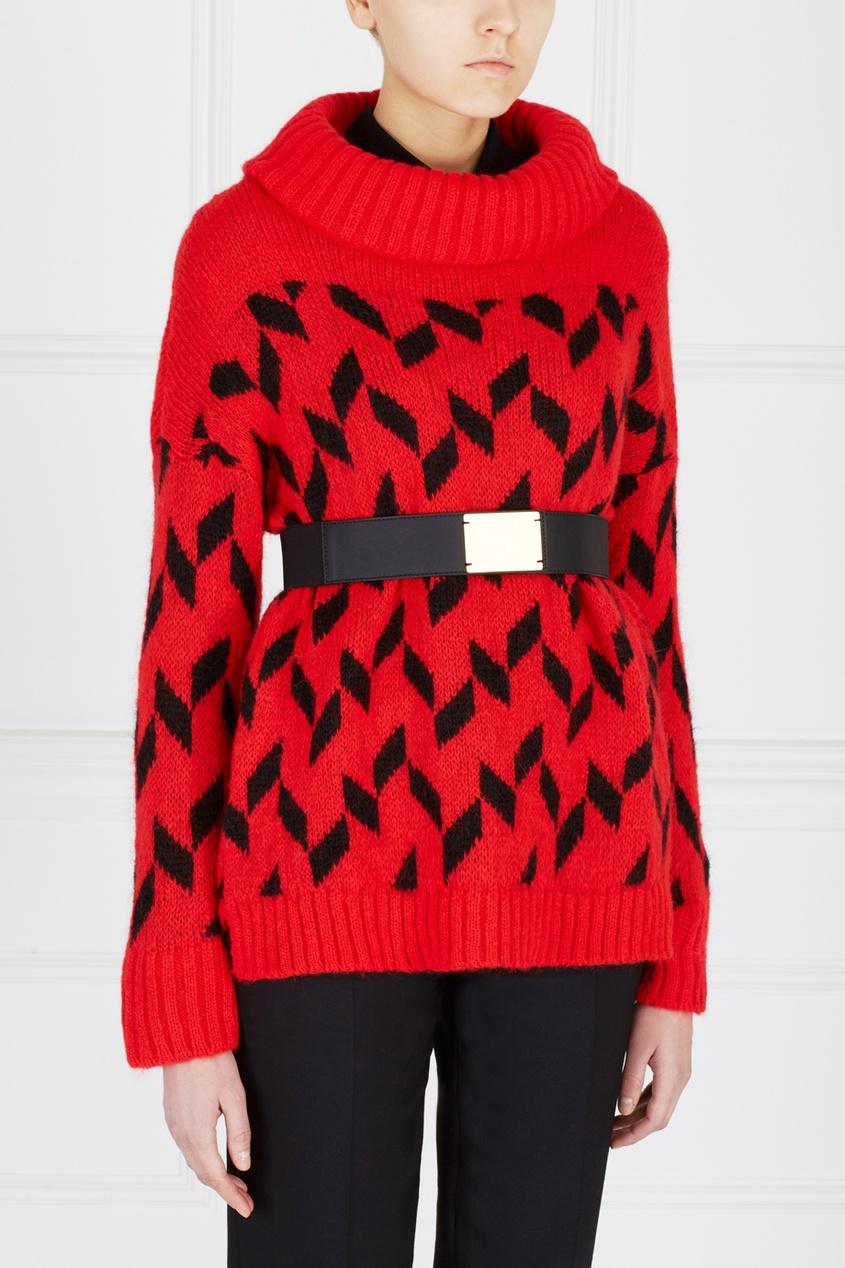 Двухцветный Пуловер Женский С Доставкой
