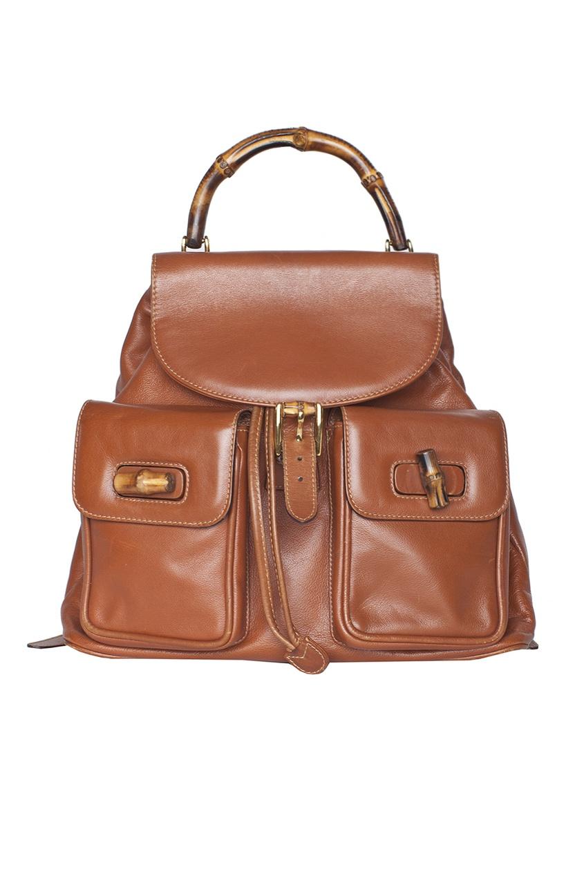 Кожаный рюкзак Bamboo (70-е гг.) - нет в наличии