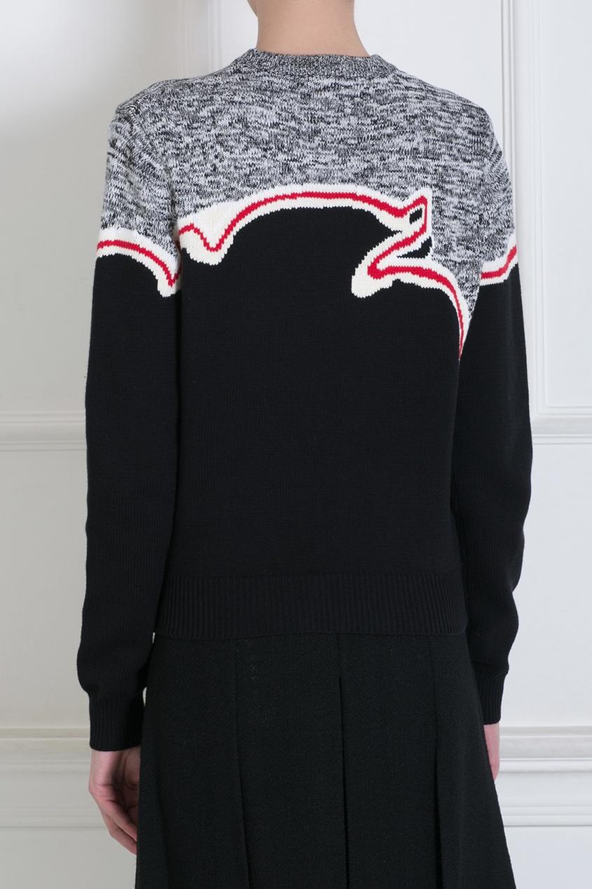Шерстяной свитер от AIZEL